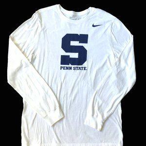 NWT Nike Long Sleeve Penn State tshirt Large
